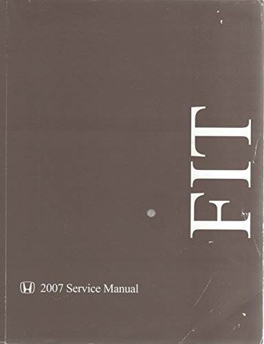 2007 Honda Fit Shop Service Repair Manual (Honda Fit Repair Manual compare prices)