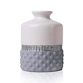 Hannahs Cottage Rose Ceramique Vase Petite Fleur Vase Moderne Table
