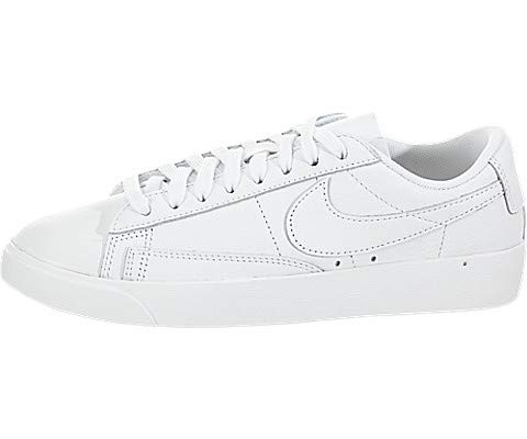 Nike Women's Blazer Low LE White/White Skate Shoe 7.5 Women US