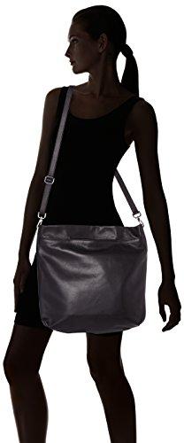 Arcadia  Yoko, Sac à main pour femme noir noir 14x32x36 cm (W x H x L)