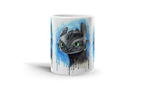 Ceramic Coffee Mug Gamer Video Game Cup Toothless Gaming Computer Drinkware Super White Mugs Family Gift Cups 11oz 325ml