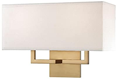 George Kovacs P472-248, 2 Light Wall Sconce, Honey Gold