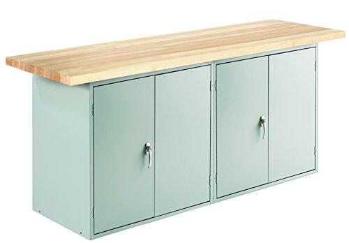 Diversified Woodcrafts MAD2-6L Wall & Island Bench Locker-LB-D2, 32.75