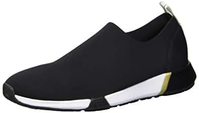 Kenneth Cole New York Women's Santel Stretch Neoprene Sneaker, Black, 6 M US