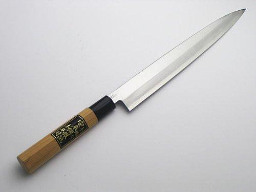 HONMAMON Sashimi Hocho (Yanagiba Kitchen Knife) 270mm (abt 10.6 Inch) for Right Hander, Blade Edge : Gin3 by HONMAMON