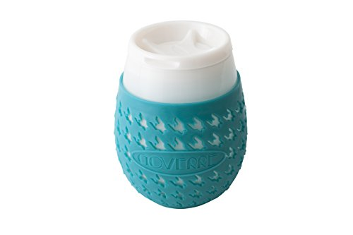 GOVERRE portable stemless drink through Turquoise product image