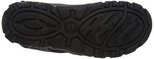U6224A0BC50 Peep Toe Grigio Grey Uomo Geox Blackc0043 qpSw5d7