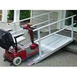 EZ-Access Pathway Ramp with Handrails - Length 10 Feet
