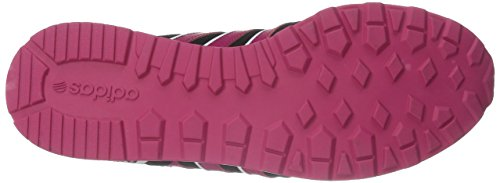 Adidas Néo Femmes 10k Avec Sneaker Noir / Rose Audacieux / Blanc
