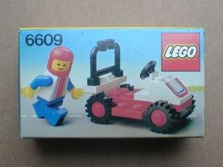Lego Legoland - Lego Legoland Race Car 6609