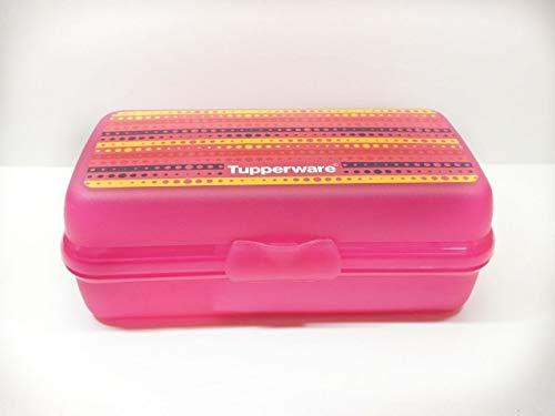 Tupperware Plastic Large Sandwich Keeper, 500ml, 205x104x73mm Multicolour