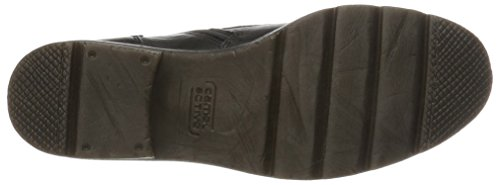 camel active Damen Aged 70 Biker Boots, Schwarz (Black 1), 40.5 EU