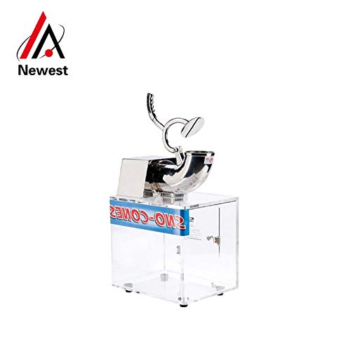Commercial restaurant electric ice crusher ice shaving snow cone maker