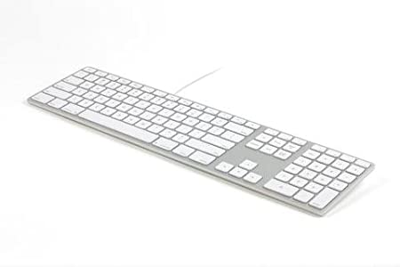 Matias Teclado con cable de aluminio para Mac sueco/nórdico ...