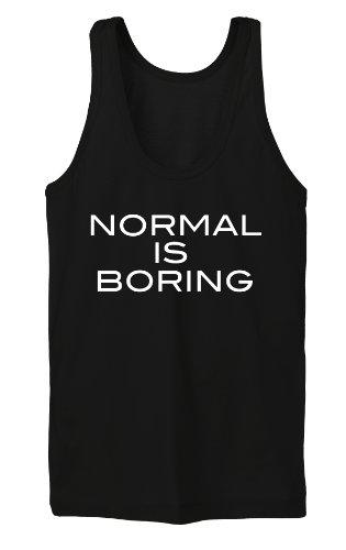 Normal Is Boring Tanktop Girls Noir