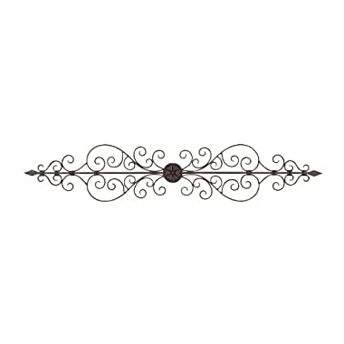 Deco 79 26545 Metal Wall Plaque, 44  x 8