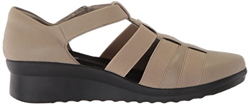 10 Shine Synthetic Women's Us Medium Nubuck Sandal Caddell Sand Clarks qwWEx040T