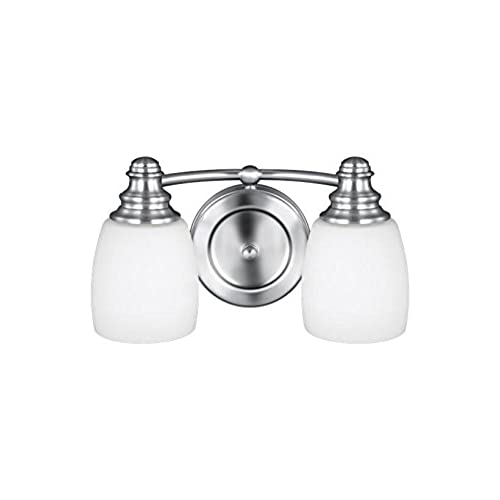 Murray Feiss VS7402 CH Bentley 2 Light Vanity Fixture, Chrome