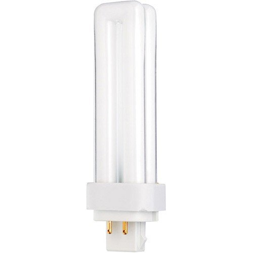 (25 Pack) Sylvania 20683 CF18DD/E/827/ECO 18-Watt 2700K 4-Pin Double Tube Compact Fluorescent Lamp ()