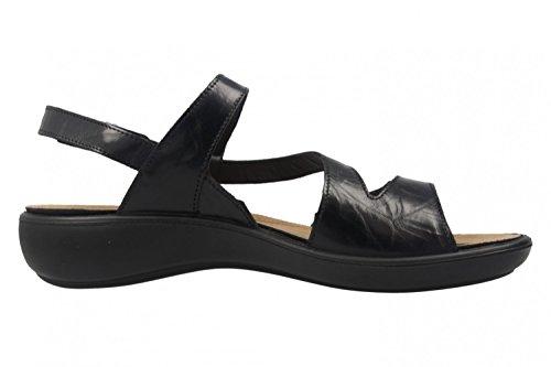 Romika Mujeres Sandalias negro, (schwarz) 1607024/100 schwarz