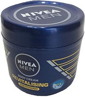 (Nivea Men Body Cream Revitalising Body Cream, 13.5oz, with caring Vitamin E- for a revitalised skin feeling )
