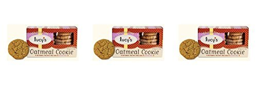 (3 PACK) - Lucy's Gluten Free Oatmeal Cookies| 156 g |3 PACK - SUPER SAVER - SAVE MONEY