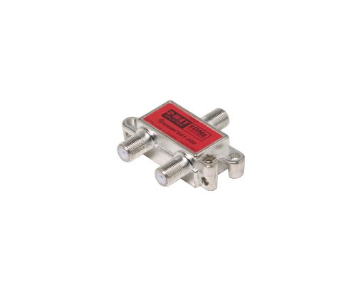 2-Way 1Ghz 130Db Rf Splitter - Steren 2 Way Splitter