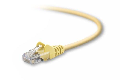 Snagless Components Cat5e Ethernet Belkin (Belkin CAT5E Snagless 15 feet (Yellow))
