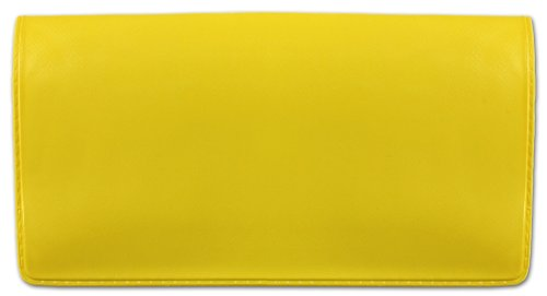 Yellow Vinyl Checkbook Cover