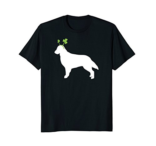 Flat Coated Retriever St Patrick's Day Dog T-Shirt