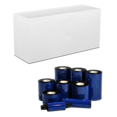 DNP W110 General Purpose Wax Black Thermal Barcode Ribbons (4.02 IN. X 984 Ft.) (102MM X 300M) (24/PK) (N-ZA102300)