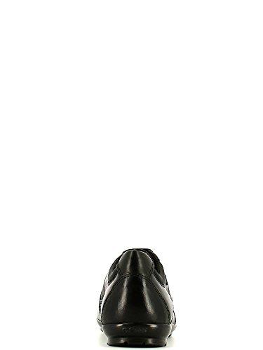 Geox Uomo Symbol A, Herren Durchgängies Plateau Pumps , Schwarz - schwarz - Größe: 42½