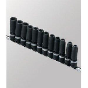 Genius Tools Model TG-312MD Deep Swivel Impact Socket Set, Metric 3/8-Inch Drive - 12 (Impact Swivel Socket Genius Tool)