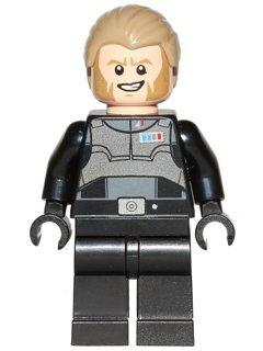 Agent Kallus mini figure compatible building blocks, star wars rebels collectible figure