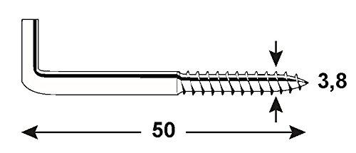 Connex KL5040050 - Gancho atornillable: Amazon.es: Bricolaje y herramientas