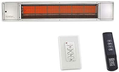 Solaira Infrared Heater, 1.5KW, 120V, Black