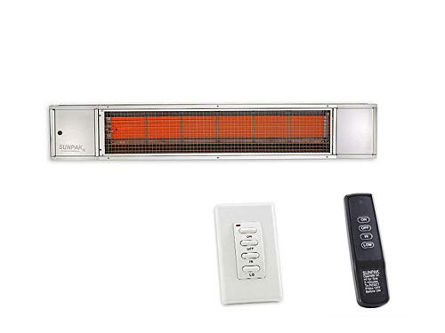 (SunPak Dual Stage Stainless Steel Infrared Heater)
