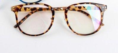 Unisex Tide Optical Glasses Round Frame Eyeglasses Metal Arrow UV400 Lens - Eyewear Arrow