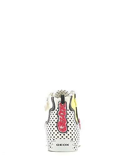 Geox Jr Ciak Girl A - Zapatillas altas Niñas Blanco