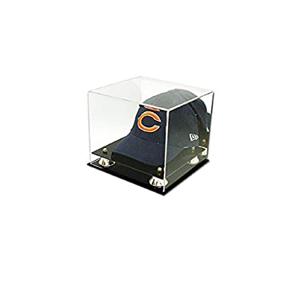 e393231c99b Image Unavailable. Image not available for. Color  Collectible Deluxe UV  Acrylic Cap Baseball Hat Display Case ...