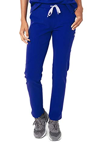 - FIGS Medical Scrubs Women's YOLA Skinny Pants, Deep Royal Blue Xs