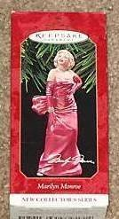 1 X Hallmark Keepsake Ornament Marilyn Monroe 1st New Collector's Series 1997 (Ornament People Christmas)