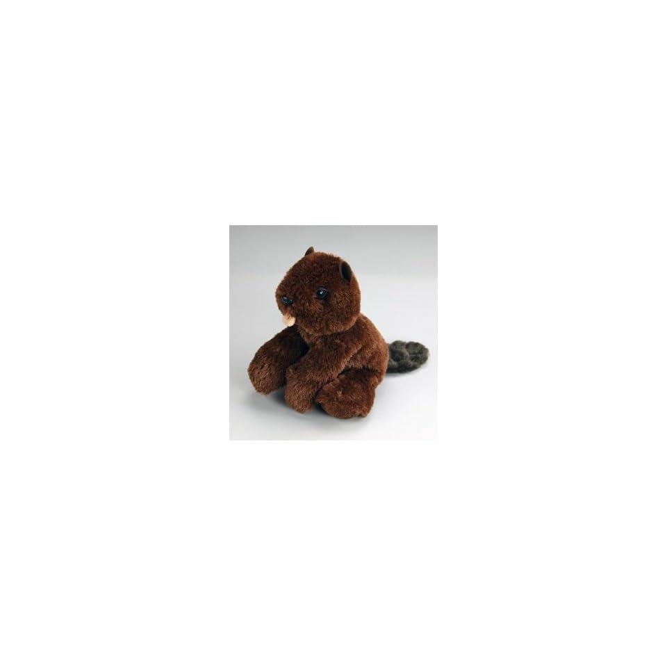Super Soft Stuffed Plush Toy 6 Inch Beaver Snuggle Ups Toys & Games
