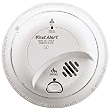First Alert SC9120BFF BRK SC-9120B Hardwired Smoke and Carbon Monoxide Alarm with Battery Backup