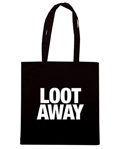 LOOT AWAY Shopper Borsa Speed WC0471 Nera Shirt 14qwBT0