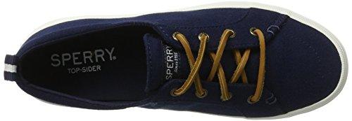 Sperry Top Vibe Linnen Marine Damessneakers Maat 6.5m