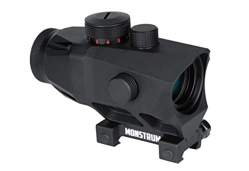 Monstrum P332 Raven Ultra-Compact 3X Prism Scope | Black