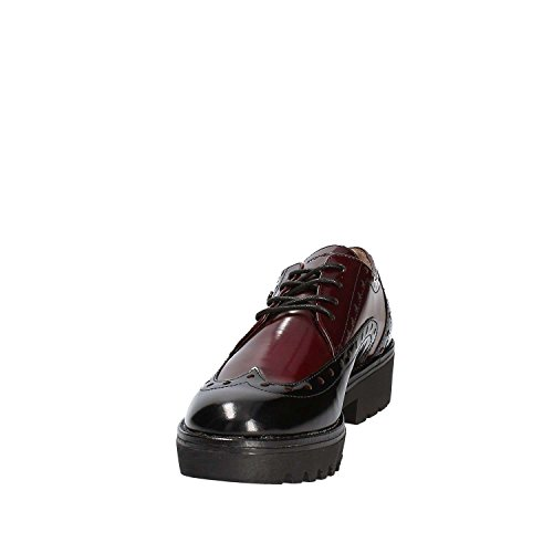 Scarpe Donna Rosso Oxford Stringate off Perry Stonefly 2 Brush qw6vI0