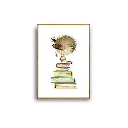 XWArtpic Dibujos Animados Lindo Animal Divertido Pollo ...