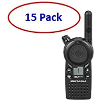 15 Pack of Motorola CLS1110 Two-way Radios with Programming Video